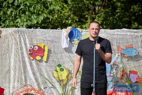 Уха в День рыбака украсила праздник в Карнауховке г. Каменское Днепродзержинск