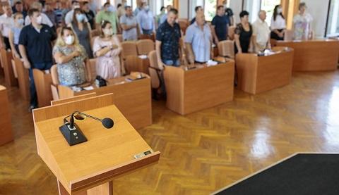 В Каменском заседали депутаты горсовета  Днепродзержинск