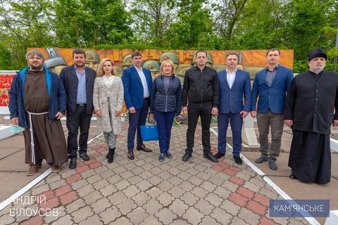 В Каменском представители громады провели мероприятия ко Дню Победы Днепродзержинск