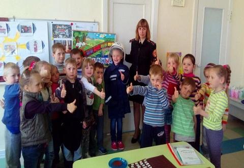 О безопасной жизнедеятельности дошкольникам Каменского рассказали спасатели Днепродзержинск