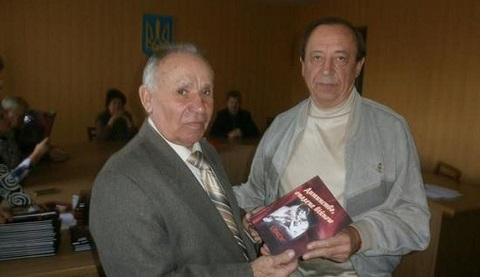 В Каменском издали вторую книгу «Детство, опаленное войной» Днепродзержинск