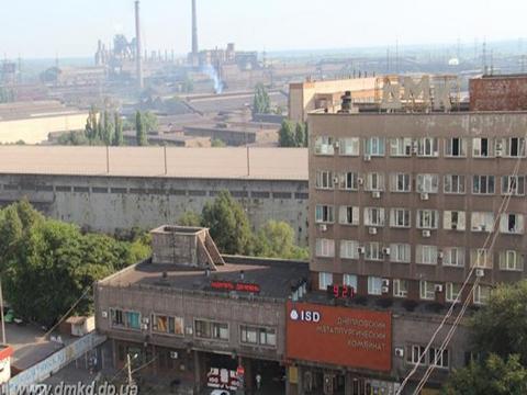 На ДМК Каменского пытаются не допустить остановку меткомбината Днепродзержинск