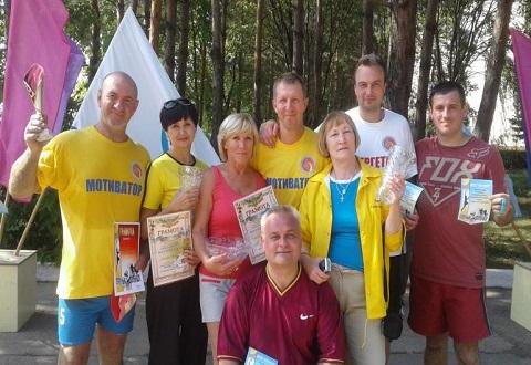 Любители пляжного волейбола в Каменском вышли на турнирные баталии Днепродзержинск