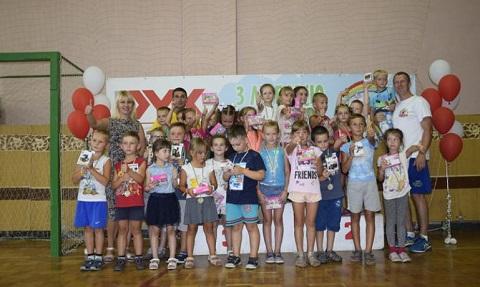 В Каменском соревновались будущие первоклассники Днепродзержинск
