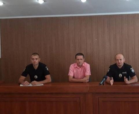 Начальник полиции г. Каменское провел пресс-конференцию Днепродзержинск