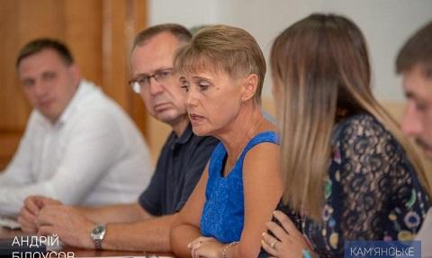 В Каменском решали вопрос о работе КСЦ «Днепровец» Днепродзержинск