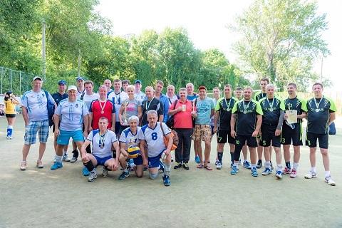 Каменская команда «Штурм» стала призером фестиваля по волейболу Днепродзержинск