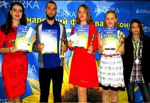 «Дни Европы» покоряли воспитанники ЦВРДТ г. Каменское Днепродзержинск