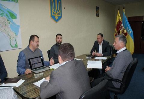 В Каменском прошла рабочая встреча мэра А. Белоусова с экспертами ЕИБ Днепродзержинск
