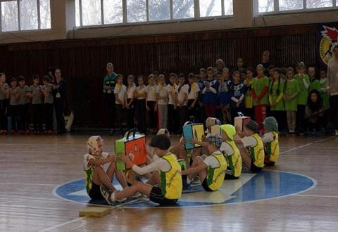 В Каменском прошел финал спортивного мероприятия для учеников младшей школы Днепродзержинск