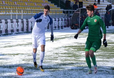 Футболисты команды «Сталь» U-19 г.Каменское провели игру 15-го тура Днепродзержинск