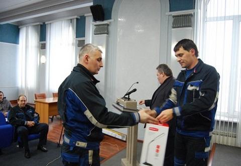 На «ДМК» г.Каменское подвели итоги конкурса «Лучший инженер по охране труда» Днепродзержинск