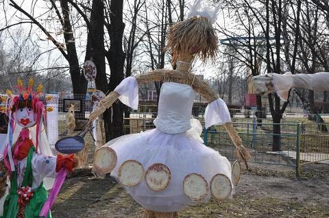 В городе Каменское отмечают праздник Масленицы Днепродзержинск