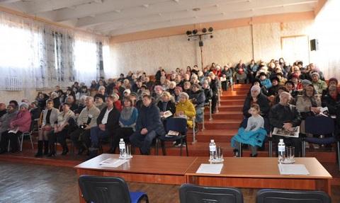 Каменской депутат провел встречу с избирателями Днепродзержинск
