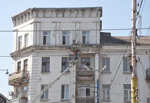 Жилой фонд Каменского продолжают ремонтировать Днепродзержинск