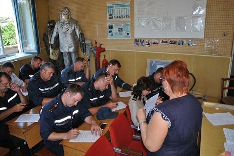 Спасатели Каменского прошли психологическое тестирование Днепродзержинск
