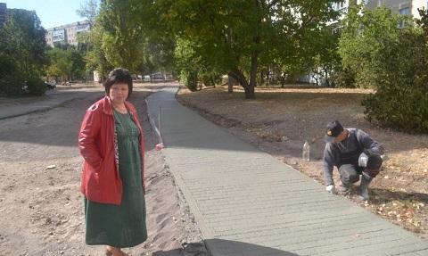 В Каменском благоустроили пешеходную зону по улице Харьковская Днепродзержинск