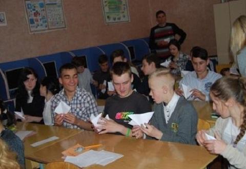 Сотрудники «ДМК» г. Каменское провели встречу с воспитанниками УВК «Гармония» Днепродзержинск
