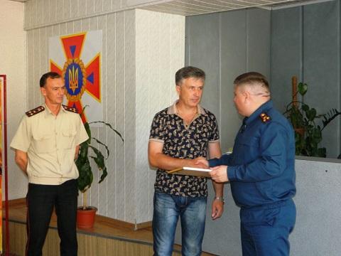 Спасатели г. Каменское  подвели итоги служебной деятельности Днепродзержинск