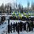 Каменские спасатели стали участниками митинга в память жертв Голодомора