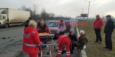 В Каменском на мосту сбили велосипедиста Днепродзержинск
