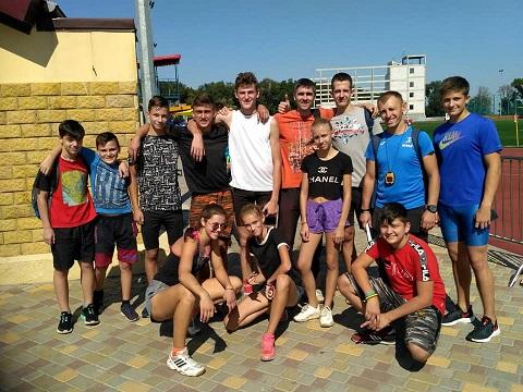 Легкоатлеты г. Каменское выступили на областном чемпионате памяти О. Твердохлеба Днепродзержинск