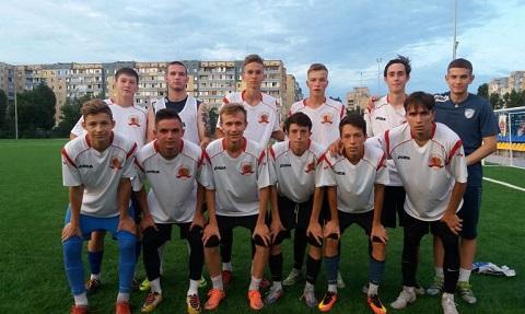 В Каменском прошла игра футбольных команд в рамках чемпионата города Днепродзержинск
