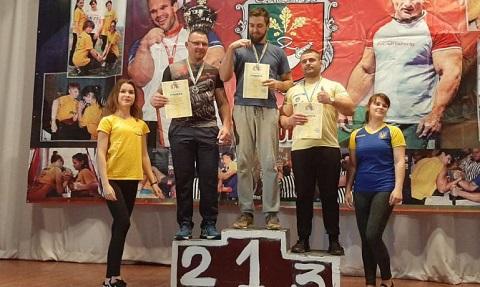 Каменчане стали обладателями медалей по армспорту Кубка области Днепродзержинск