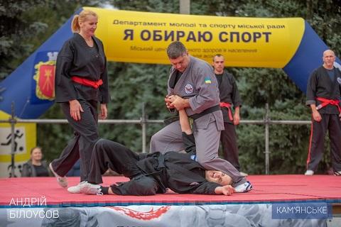 Каменчане провели фестиваль единоборств Днепродзержинск