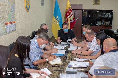 В Каменском прошло рабочее совещание по вопросу получения кредита от ЕИБ  Днепродзержинск