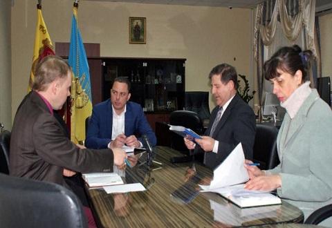 На рабочем совещании в Каменском говорили о внедрении системы КЭМ Днепродзержинск