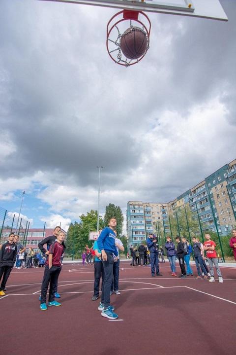 В Каменском определили лучший «Спортивный двор» Днепродзержинск