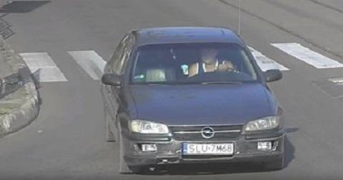 Водитель автомобиля с еврономерами задержан за кражу решетки ливневки в Каменском Днепродзержинск