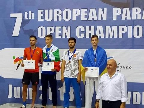 Спортсмен из г. Каменское стал бронзовым призером европейского турнира по тхэквондо  Днепродзержинск