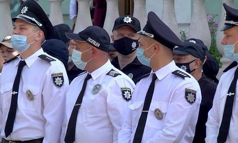 В Каменском с профессиональным праздником поздравили сотрудников полиции Днепродзержинск