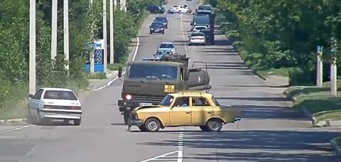 В Каменском столкнулись два легковых автомобиля  Днепродзержинск