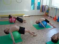 Фитбол-гимнастика как средство физического воспитания дошкольников Днепродзержинск