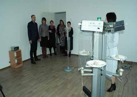 На жилмассиве «Днепрострой» Каменского в ДУЗ № 41 открыли спортзал Днепродзержинск