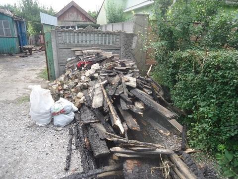 В г. Каменское молния попала в жилой дом Днепродзержинск