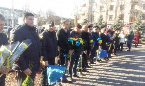 Каменчане торжественно отметили День Достоинства и Свободы Днепродзержинск