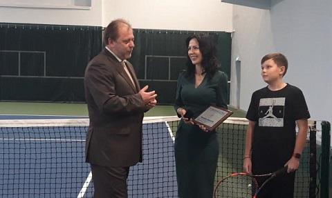 В зале теннисной славы Украины появилось имя знаменитого жителя Каменского Днепродзержинск