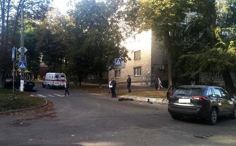В Каменском в результате ДТП пострадал человек Днепродзержинск