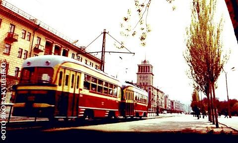 Каменской трамвай отметил свое 85-летие Днепродзержинск