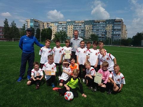 Юные футболисты г. Каменское победили в зональных соревнованиях области Днепродзержинск