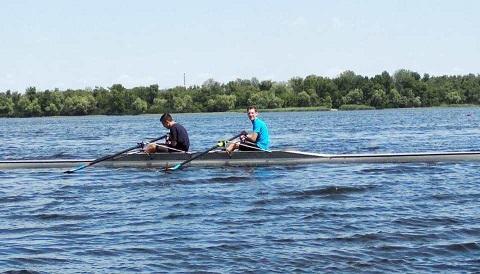 Каменские гребцы провели чемпионат города Днепродзержинск