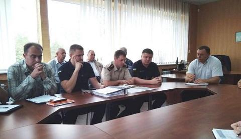 На ГЭС г. Каменское проверяют состояние пожарной и технической безопасности Днепродзержинск