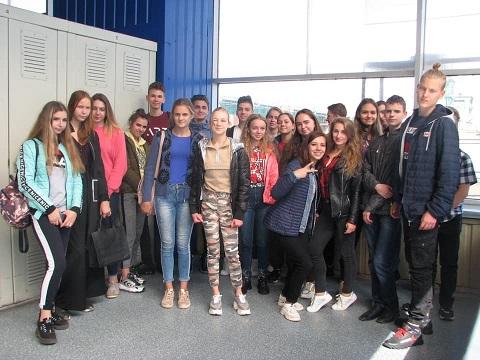 На ГЭС г. Каменское провели экскурсию для старшеклассников Днепродзержинск