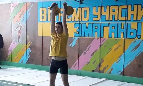 Участники областной Спартакиады из Каменского стали призерами в упражнениях с гирями Днепродзержинск