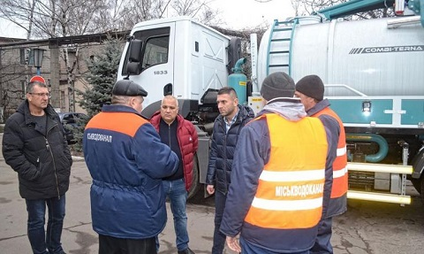 Каменской «Горводоканал» подготовил к работе КПМ Днепродзержинск