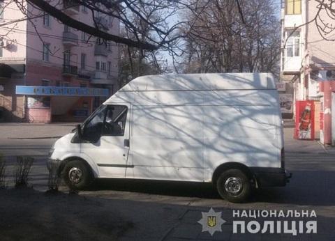 Владелец микроавтобуса в г. Каменское задержал грабителя  Днепродзержинск